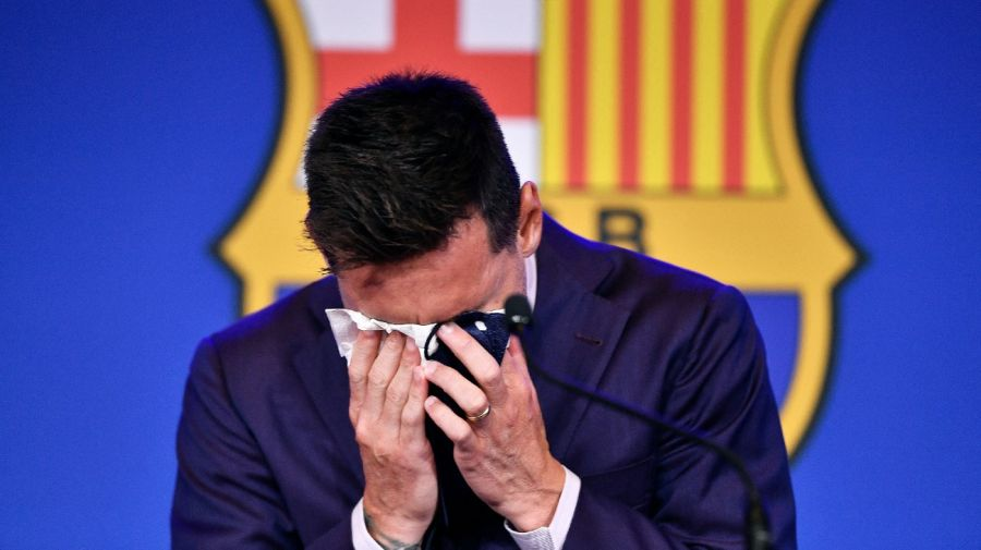 Leo Messi despedida FC Barcelona llanto