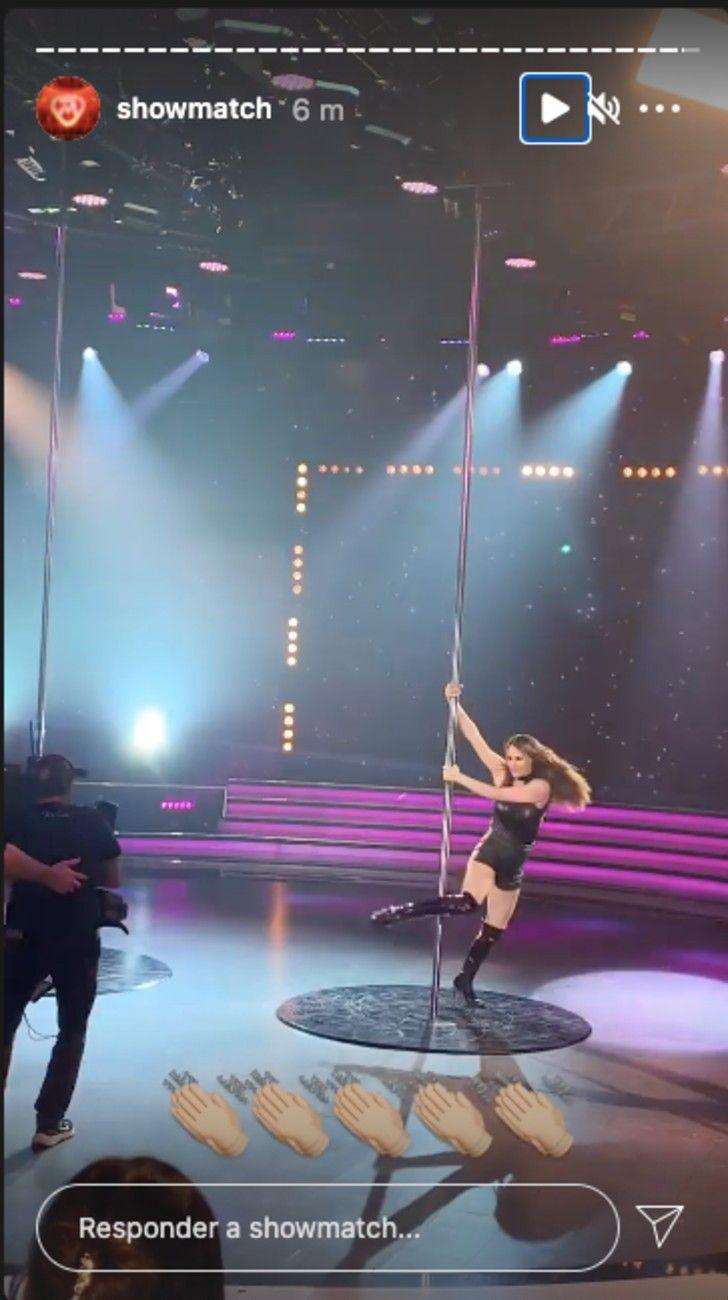 La Academia: Pampita impactó con su sensual baile del caño