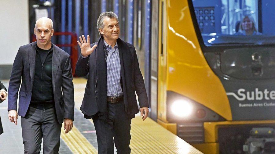 Rodríguez Larreta y Mauricio Macri