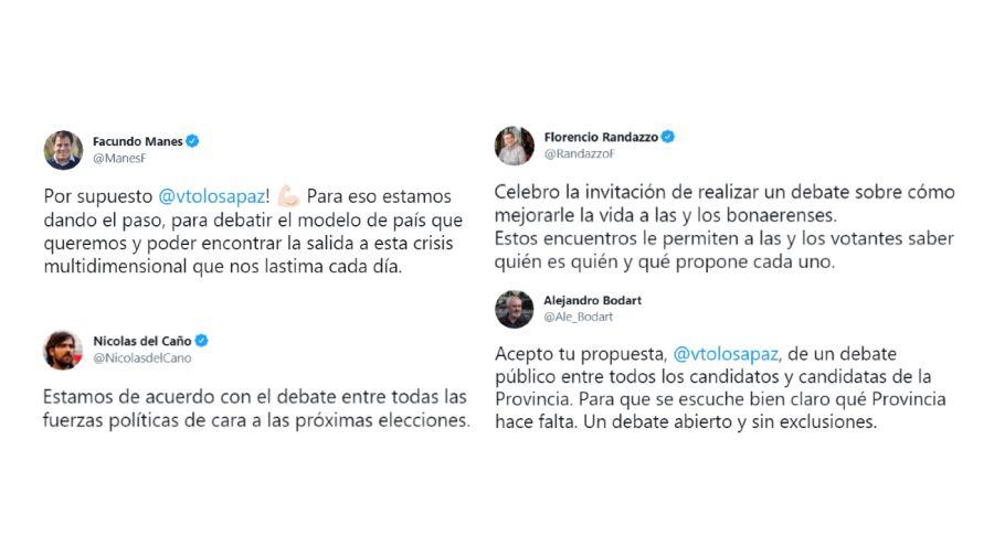 Debate Tolosa Paz