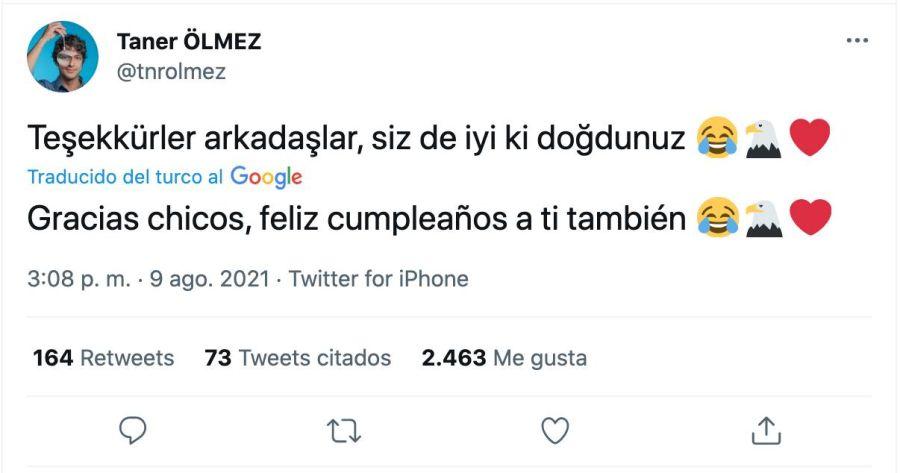 Doctor Milagro de cumpleaños: así festejó Taner Ölmez sus 35 años
