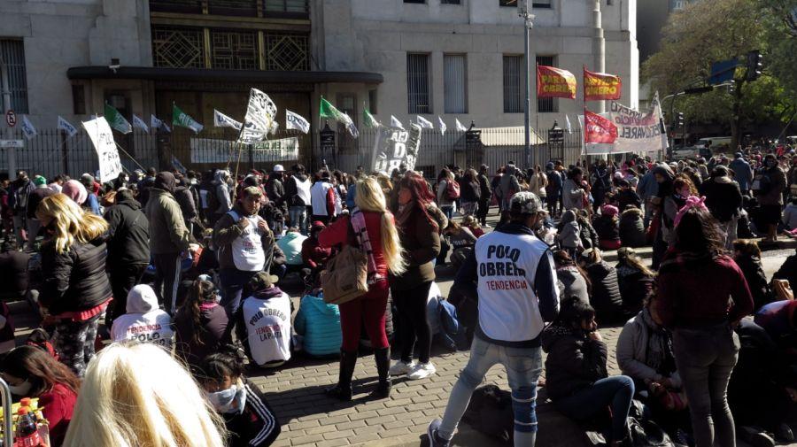 juan zabaletaPolo Obrero Tendencia protestaMinisterio Desarrollo Social g_20210810