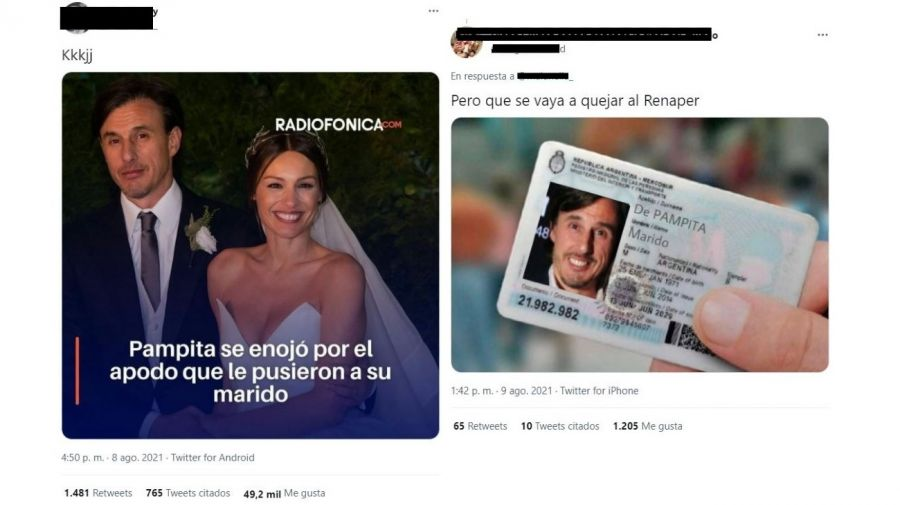 Memes el marido de Pampita