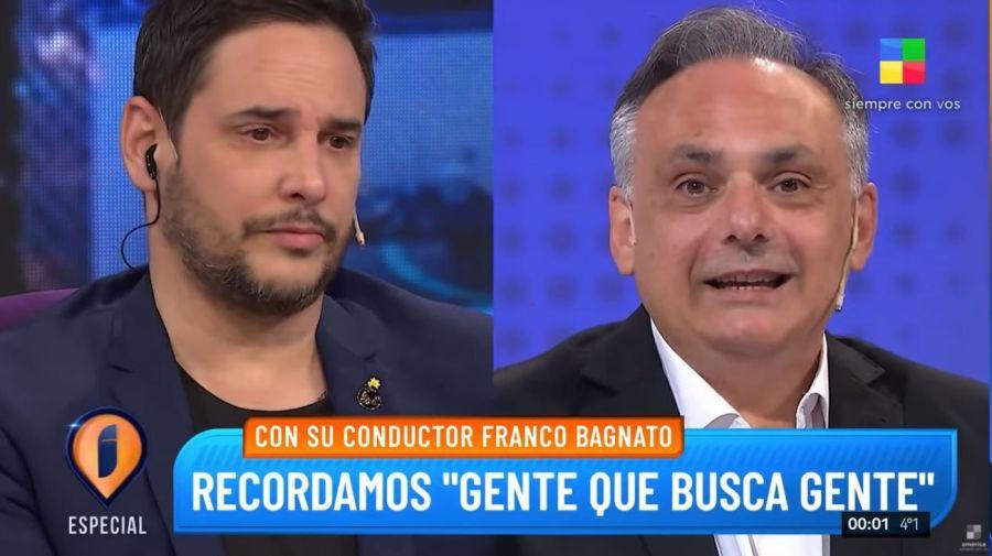 Rodrigo Lussich y Franco Bagnato