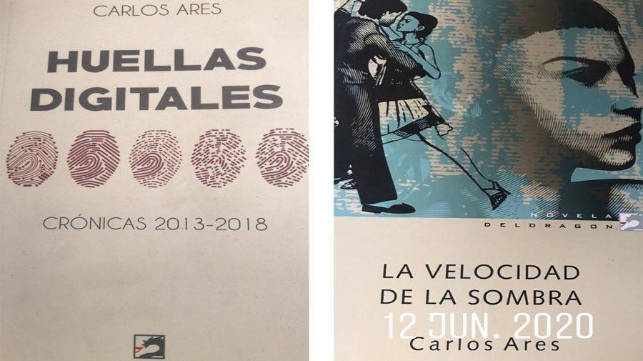 Carlos Ares tapas de libros 20210812