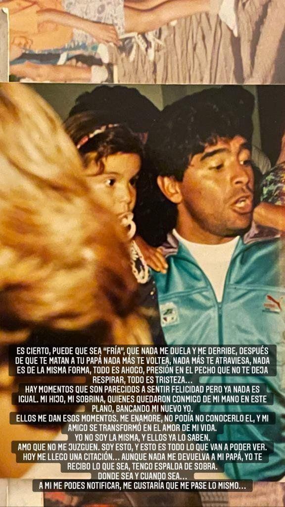 Gianinna Maradona habló del inicio de su relación con Daniel Osvaldo: