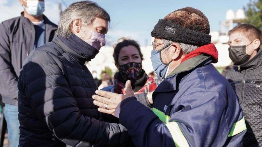 Máximo Kirchner en Derqui