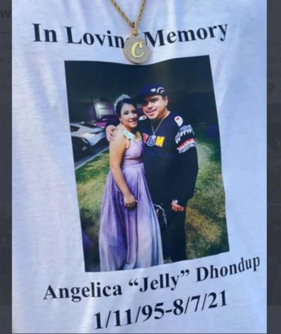 salió de su casamiento y murió con el vestido de novia puesto en un accidente de tránsito