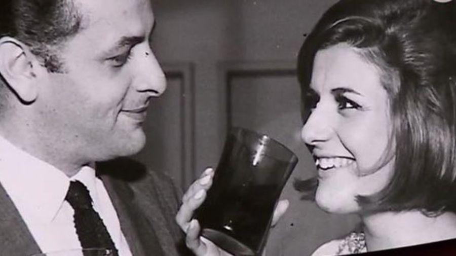 Gerardo Sofovich y Carmen Morales