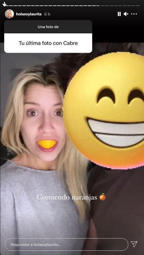 Laurita Fernández sorprendió a sus seguidores y subió una foto con Nico Cabré