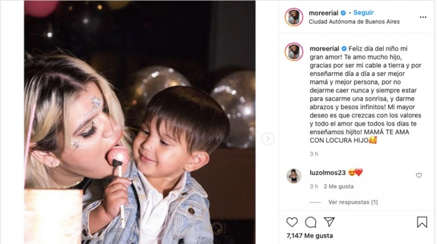 El saludo de los famosos a sus hijos por el Día del Niño