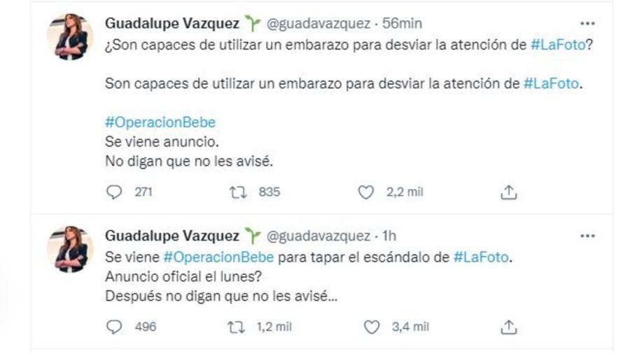 Guadalupe Vazquez sobre rumores embarazo Fabiola Yanez
