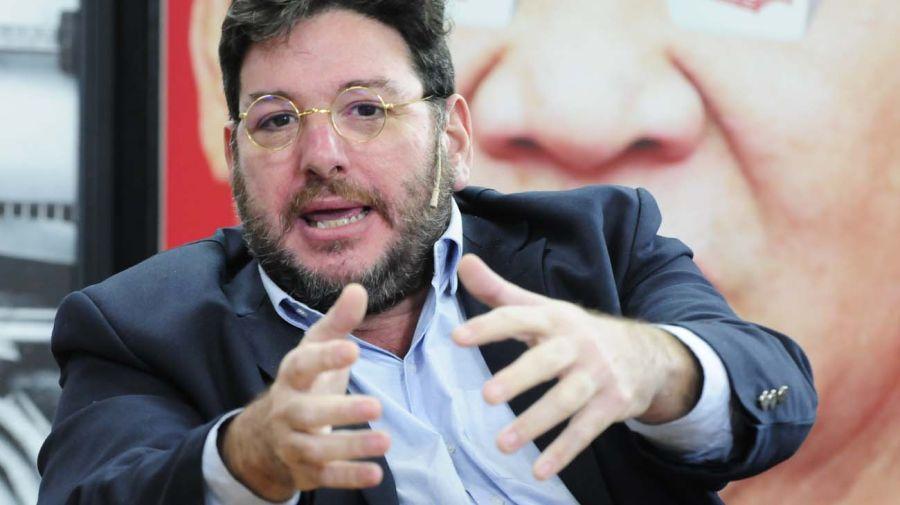 Pablo Avelluto, en la entrevista con Jorge Fontevecchia.
