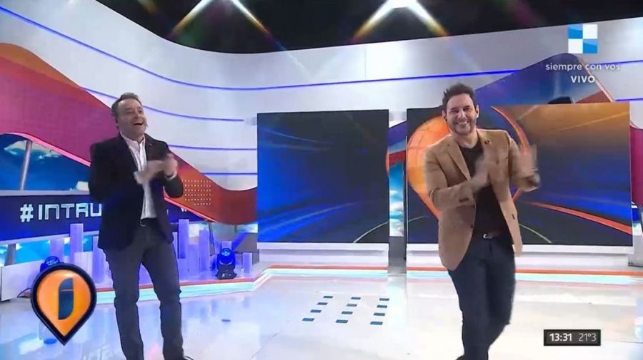 Adrian Pallares y Rodrigo Lussich