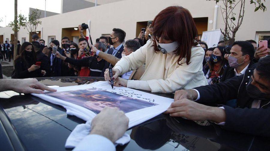 Cristina Kirchner en campaña