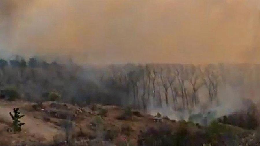 Incendios en Córdoba 20210818
