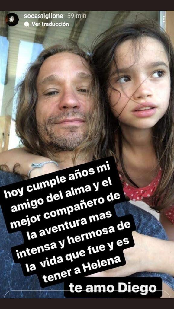 El mensaje de Sofía Gala a su Diego Tuñón por su cumpleaños