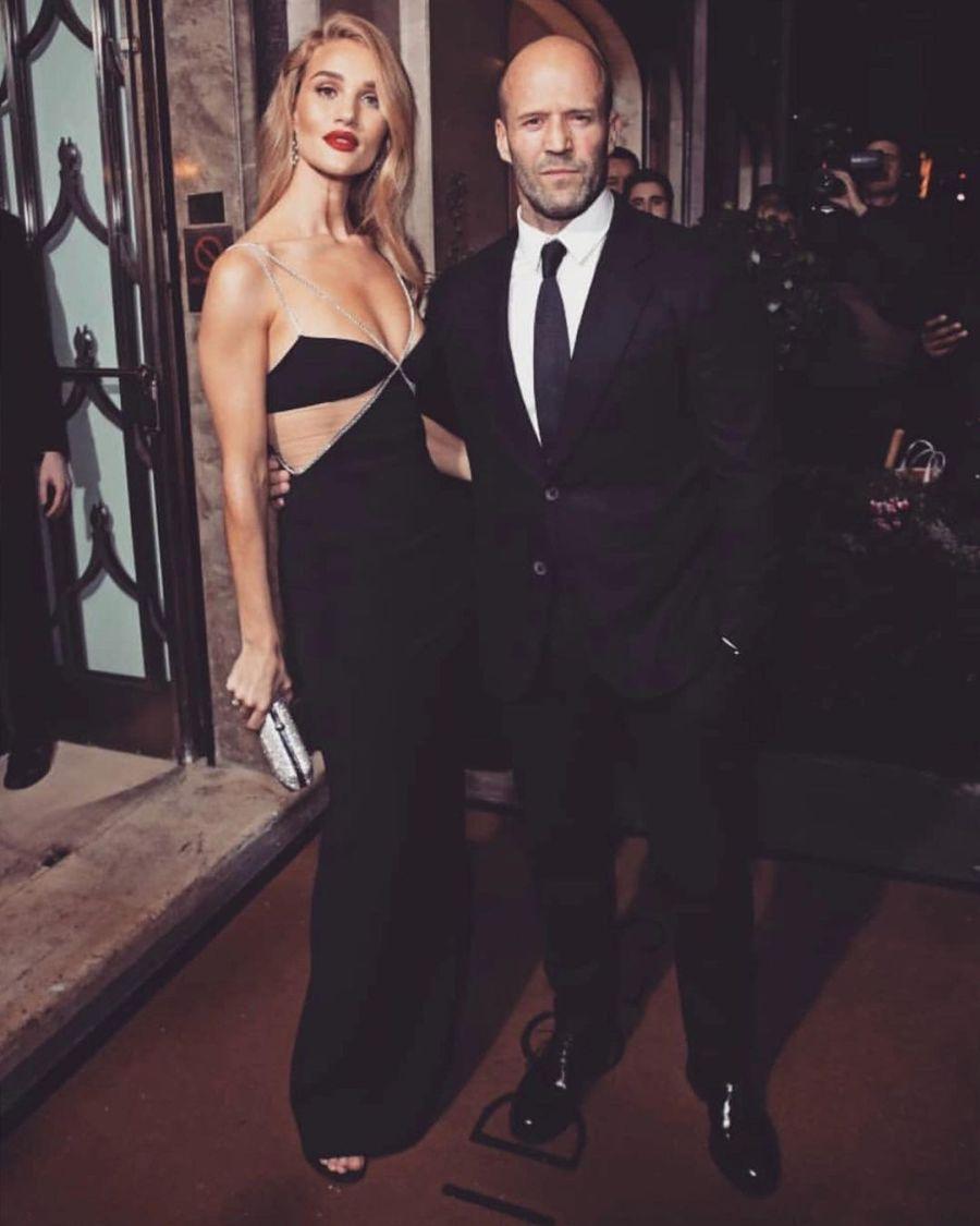 Jason Statham y Rosie Huntington-Whiteley serán padres por segunda vez