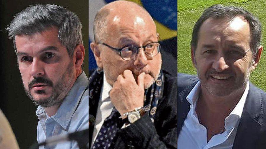 Marcos Peña, Jorge Faurie y Fulvio Pompeo. 20210819