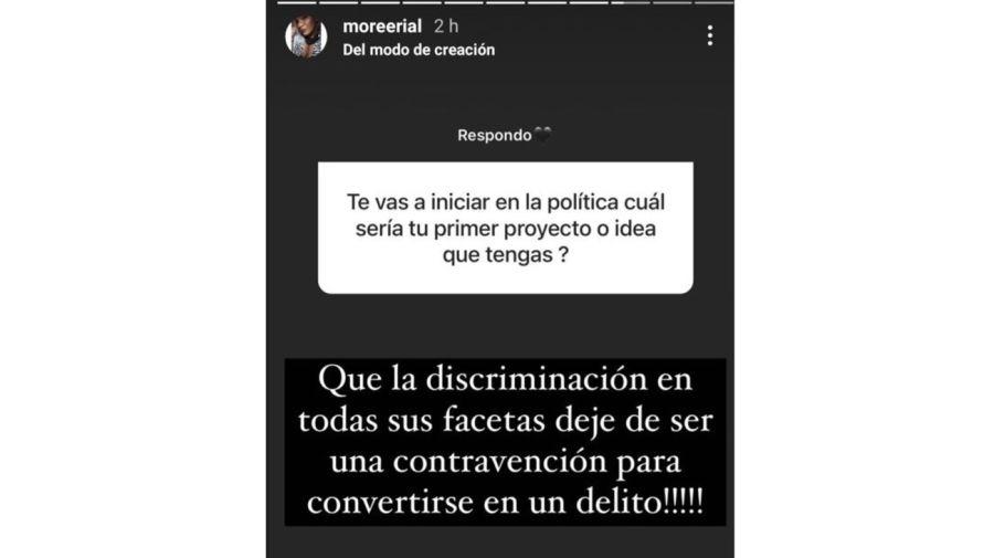Proyecto politico Morena Rial