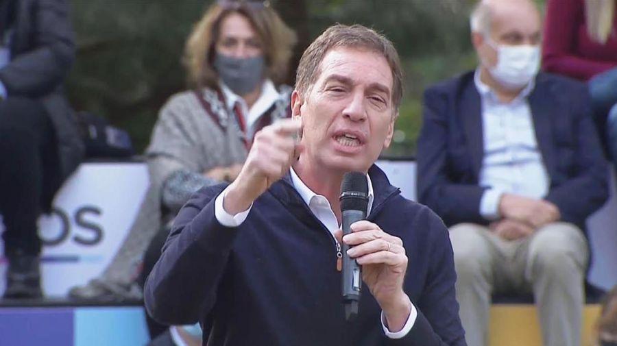 Santilli en campaña 20210819