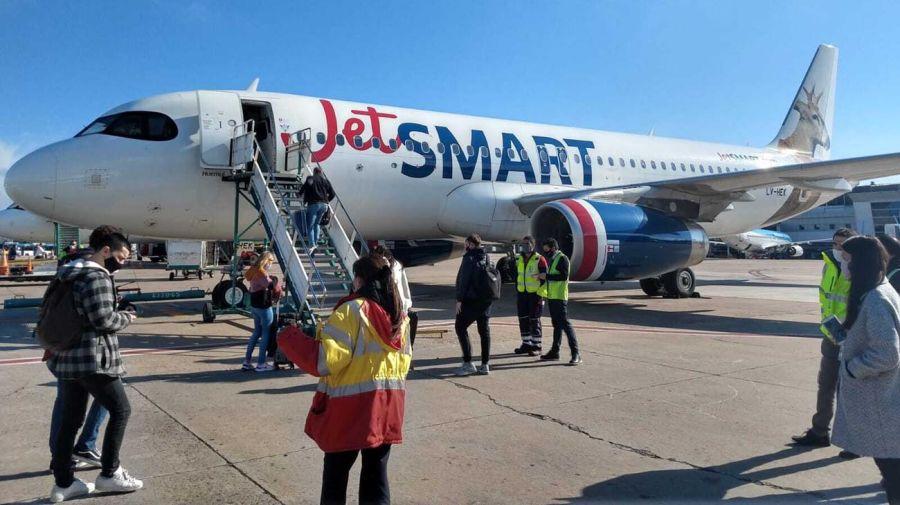 Aviones de Jetsmart. 20210820