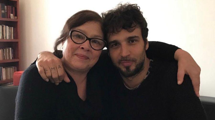 Dante Spinetta y Patricia Salazar