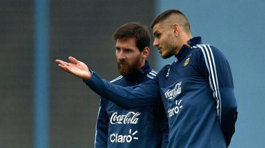 Messi e Iccardi 0820