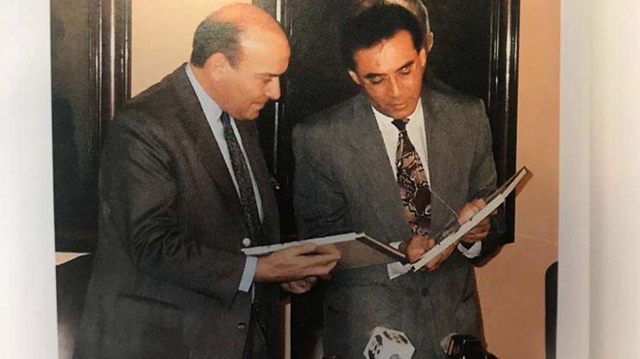 ASESORAMIENTO. Cavallo trabajó con Mahuad en el proceso que llevó a la dolarización.
