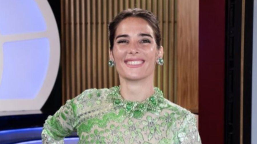 Juana Viale imitó a Mirtha Legrandcon un gracioso gesto