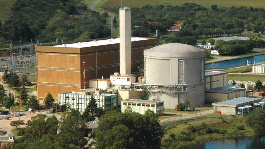 Central nuclear Embalse en la provincia de Córdoba.