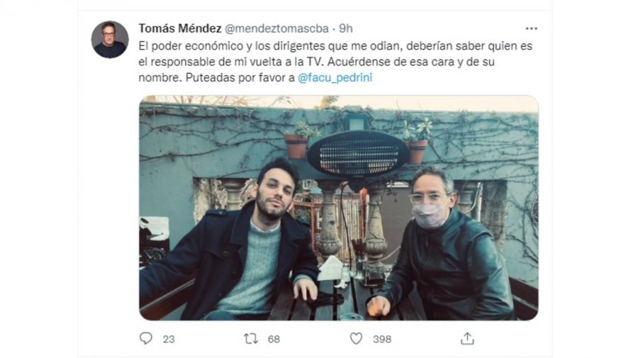 twitter Tómas Méndez