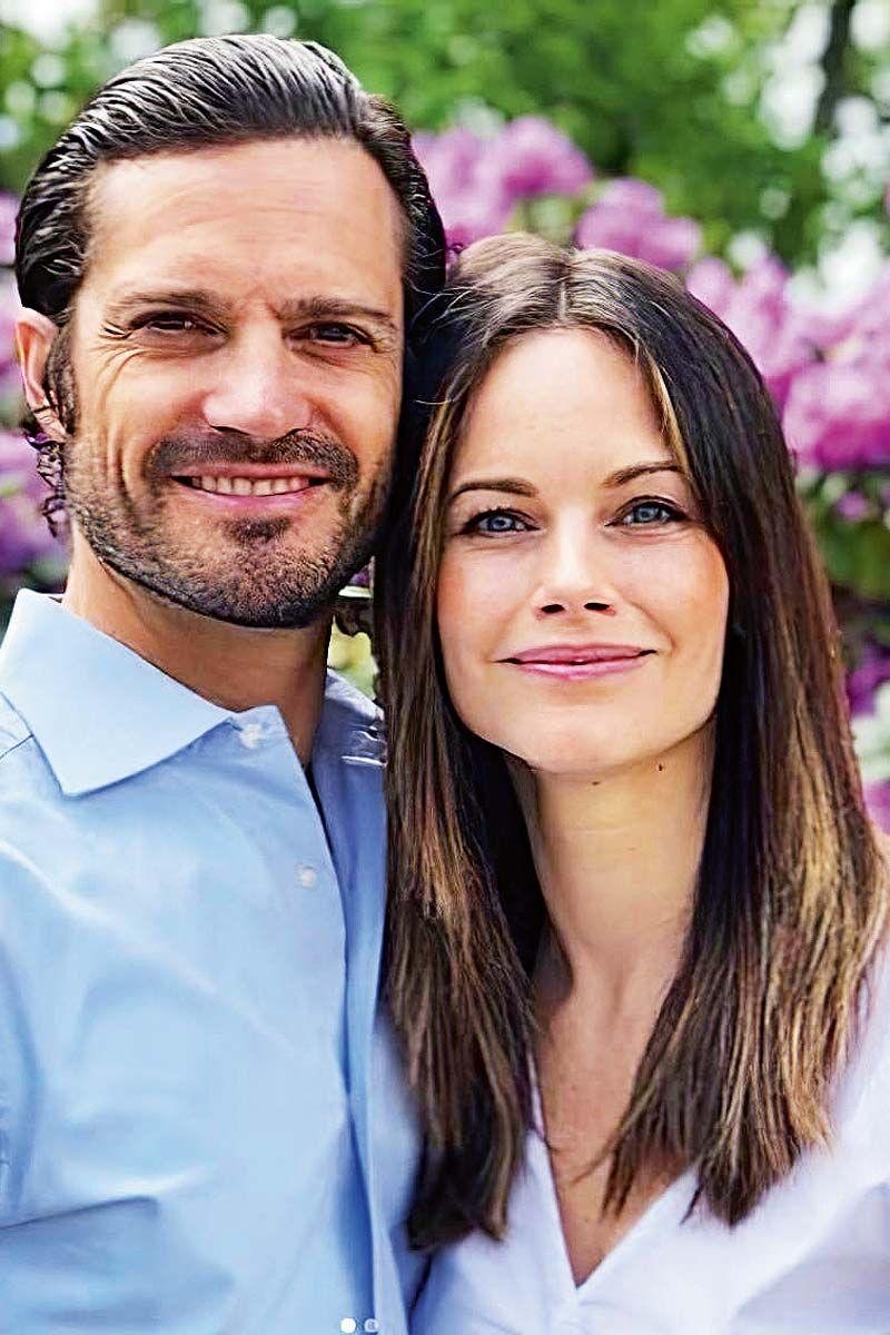 Carlos Felipe de Suecia y su mujer