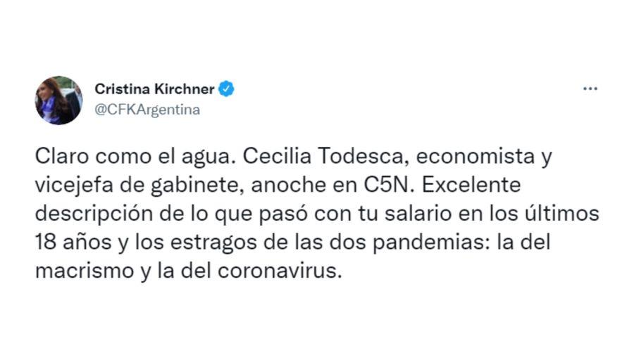 CFK Salario