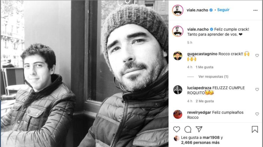 Conoce a RoccoGastaldi, el hermano bajo perfil de Juana y Nacho Viale