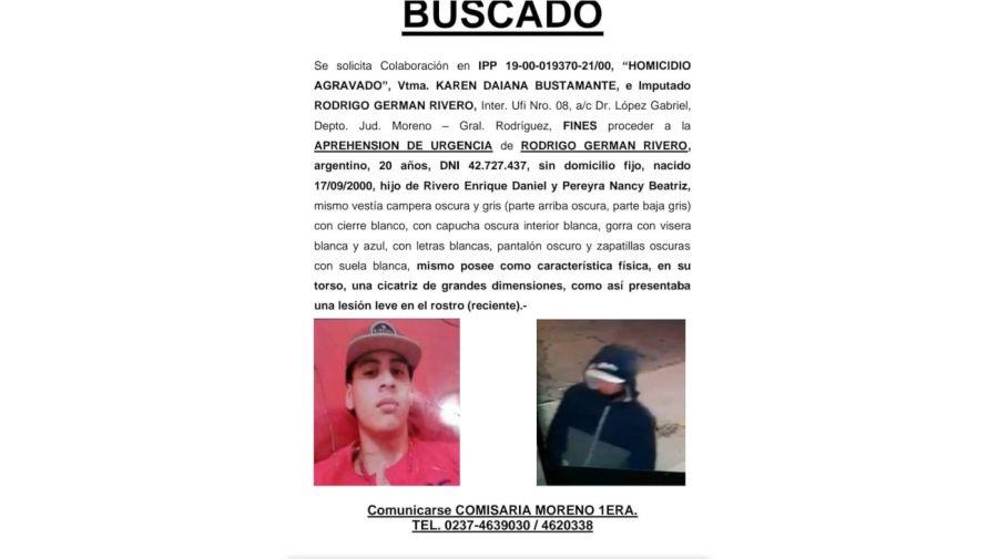 2021 08 25 Rodrigo Rivero Femicida Karen