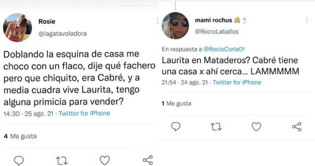 Aparecen más indicios de reconciliación entre Laurita Fernández y Nico Cabré