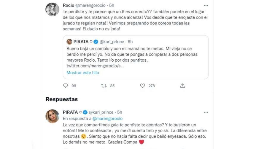 Karina contra Rocio Marengo