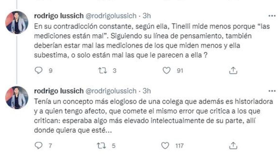 Rodrigo Lussich contra Marcela Feudale