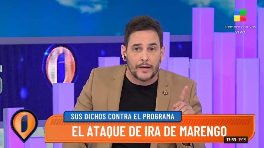 Rodrigo Lussich en Intrusos
