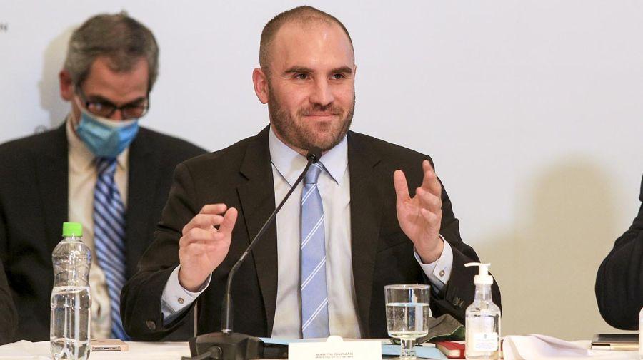 Martín Guzmán en el Senado
