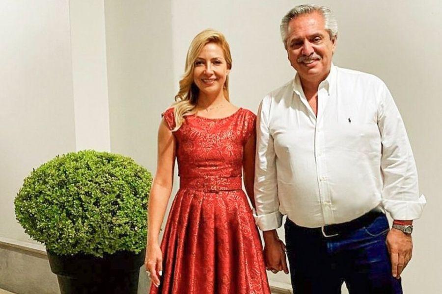 ¿Lo confirmó? Alberto Fernández habló del embarazo de Fabiola Yáñez