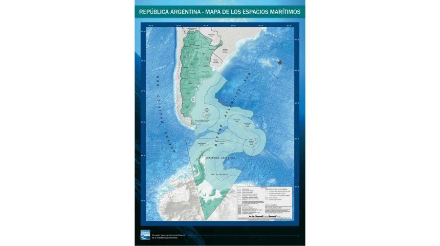 espacios marítimos Argentina