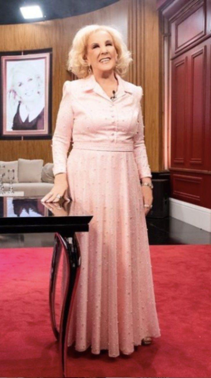Mirtha Legrand volvió a la televisión: conocé todos los detalles de su look