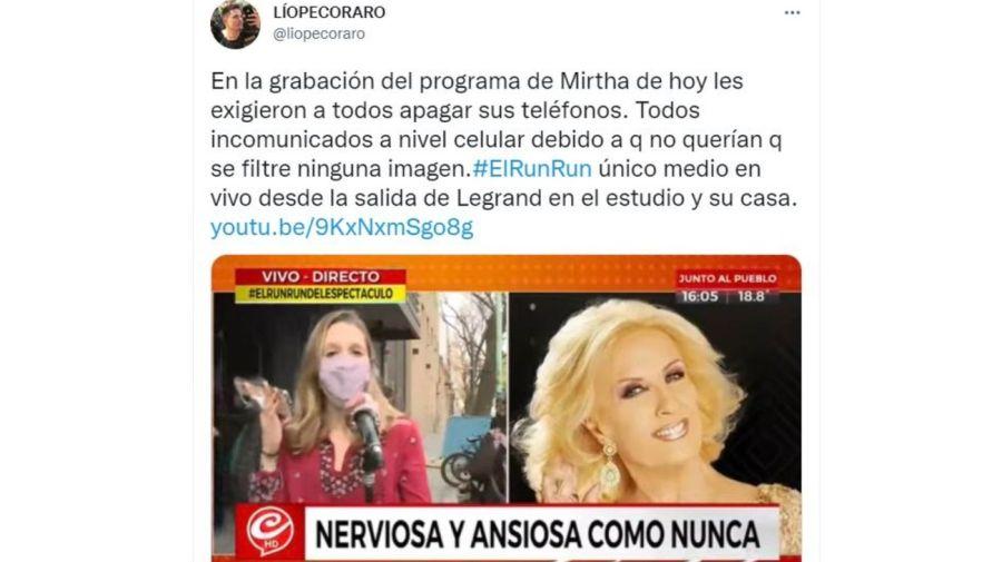 El regreso de Mirtha Legrand