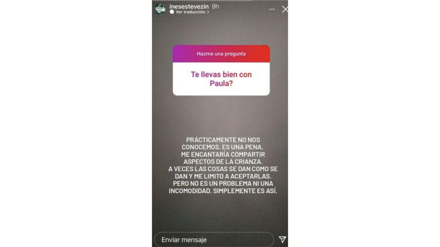 Inés Estévez Instagram