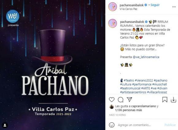 Aníbal Pachano se despide de los escenarios con una última temporada