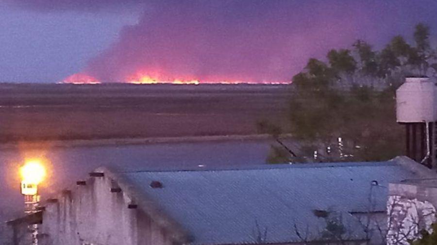 Incendios Delta Parána