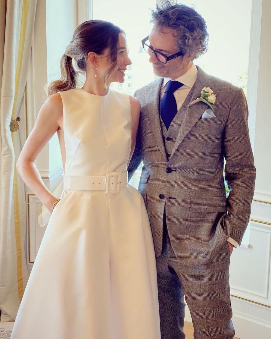 Mica Breque se casó en España y compartió un fuerte mensaje en sus redes