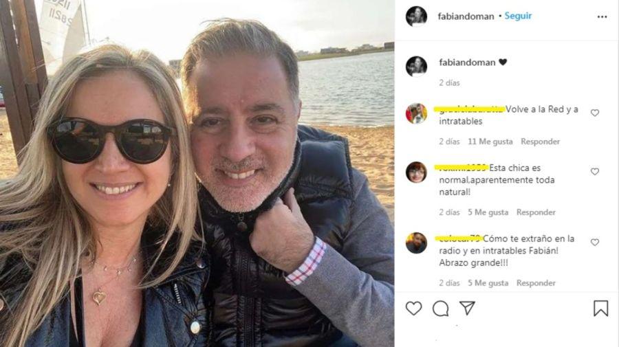 Fabian Doman y Viviana Salama